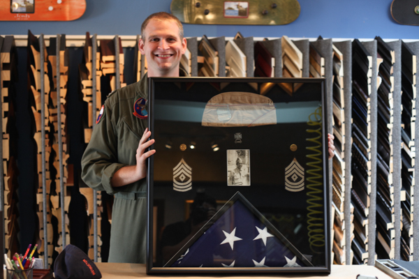 Military Memorabilia Custom Framing   Display Cases 0cc69204a