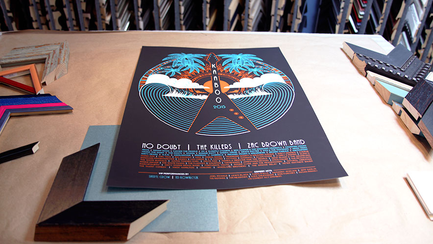 Kaaboo Concert Poster