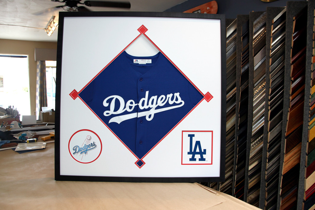 LA Dodgers Jersey with Custom Mat Design