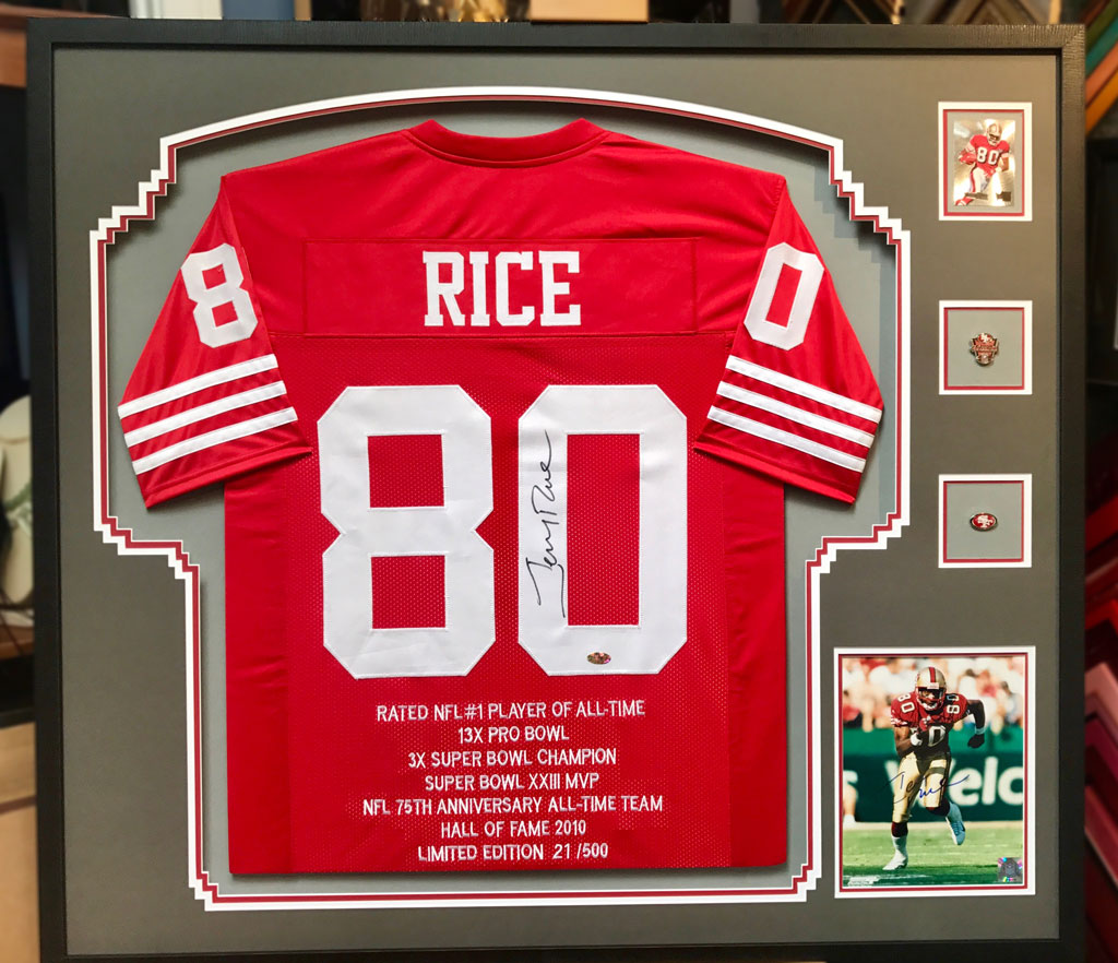 Jersey Framing and Sports Memorabilia Custom Framing