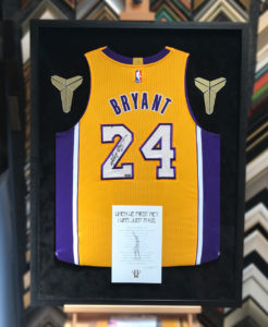 best service fa1c0 c6ac9 Kobe Bryant Jersey with Farewell Letter and Logos - Jacquez ...