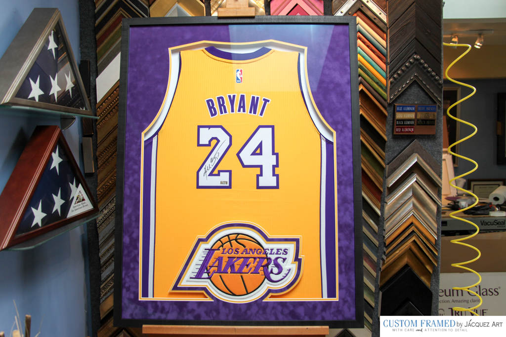 Jersey Framing And Memorabilia Custom Framing