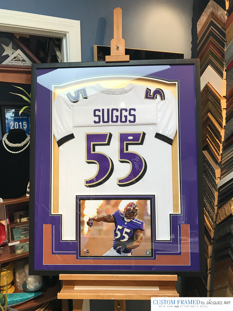 "Terrell Raymonn Suggs, nicknamed ""T-Sizzle"" or ""Sizzle"", is an American football outside linebacker for the Baltimore Ravens of the National Football League"