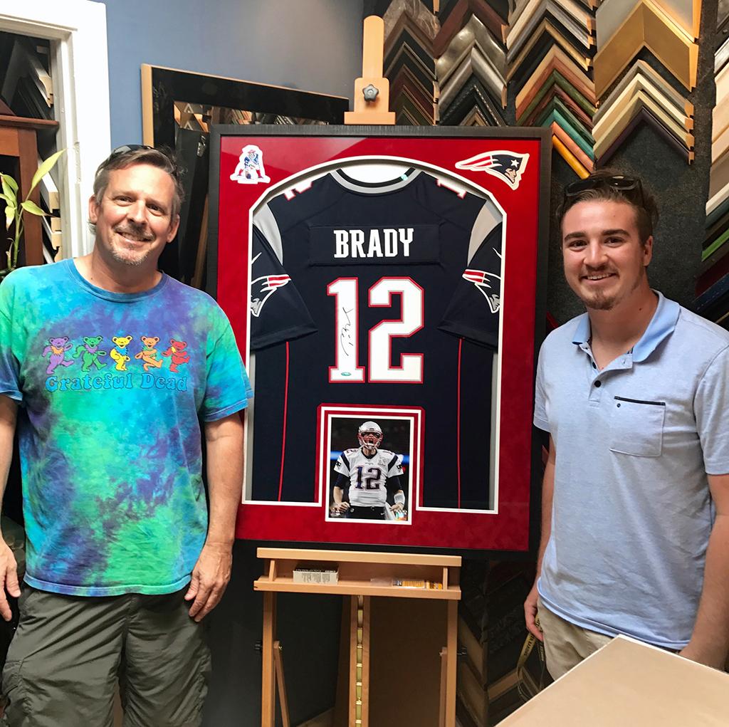 Jersey Framing and Sports Memorabilia Custom Framing
