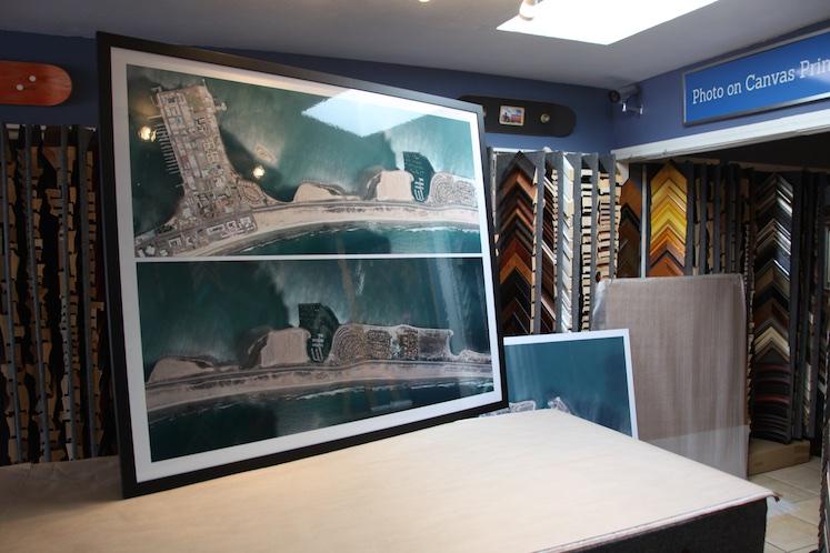 Commercial Custom Framing - Jacquez Art & Custom Framing