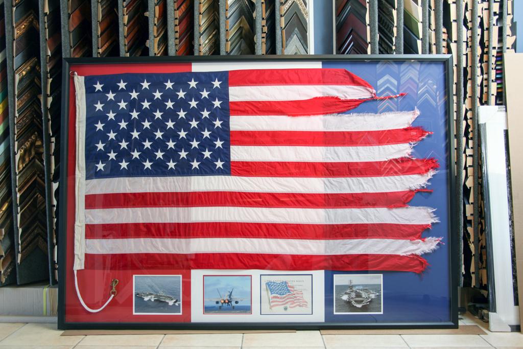 Military Custom Framing - Jacquez Art & Custom Framing