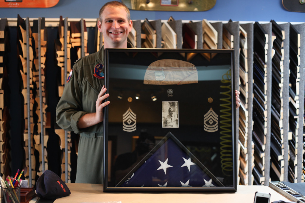 Military Custom Framing