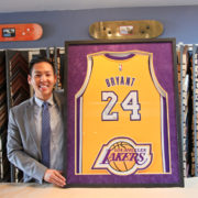 Signed Kobe Bryant Jersey Custom Framed by Jacquez Art