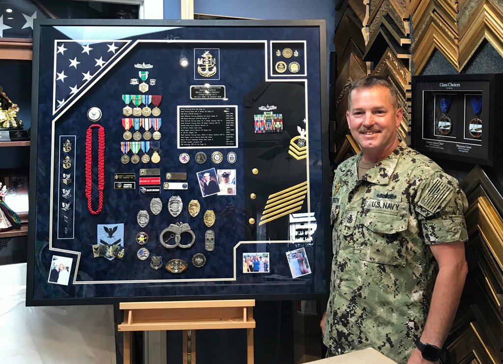Military Custom Framing Jacquez Art, Military Picture Frames Army