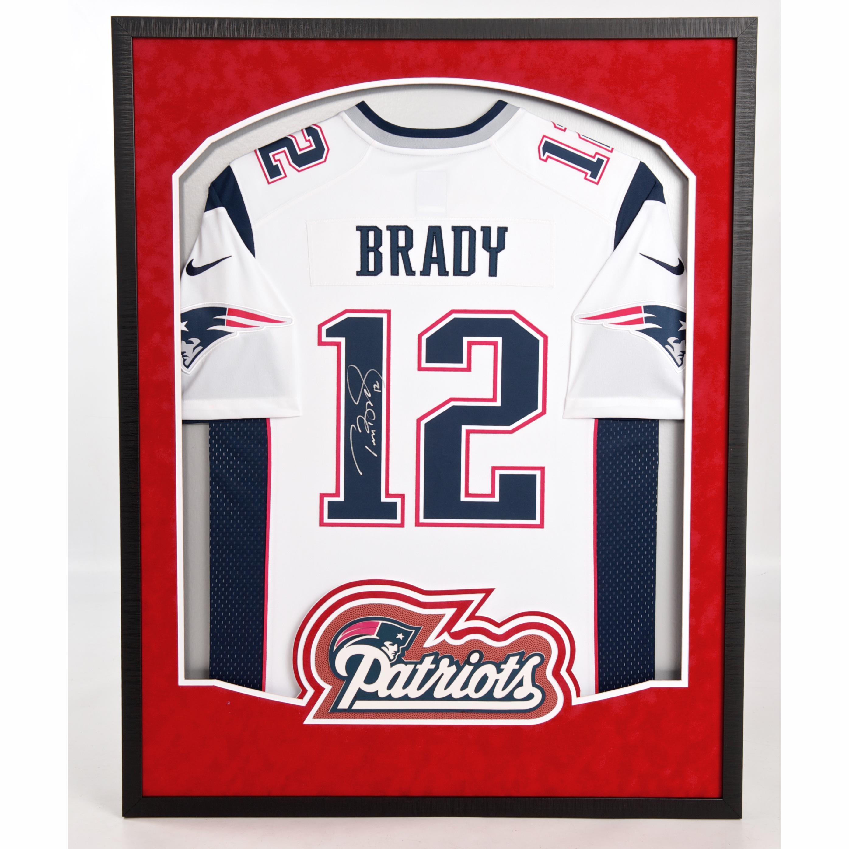 Tom Brady Jersey Framing – Best way to display a New England ...